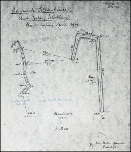 Stollenplan von 1919