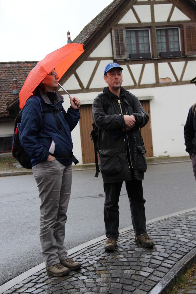 Doris Reber und Patrick Nagy, unsere beiden kompetenten Führer © Thomas Zollinger