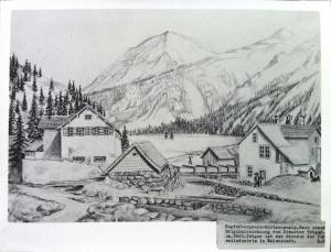 Aufbereitung nach einer Zeichnung von Tröger aus dem Jahr 1860