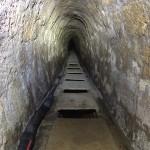 Gemauerter Stollen der nördlichen Brunnenstube