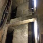 Einstieg in die alte Brunnenstube